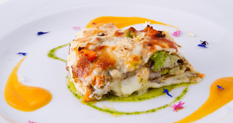Lasagne senza glutine con zucca, speck e castagne - Parmalat
